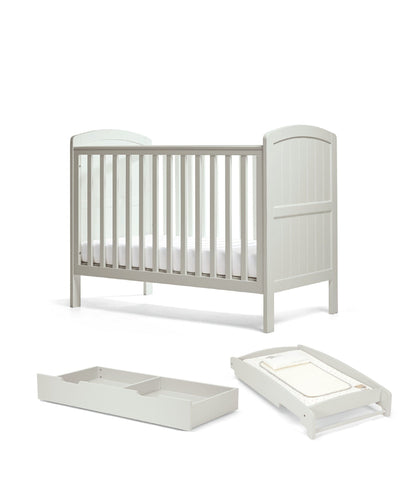 Mamas & Papas Package Cot Dover Cot Package - Cool Grey
