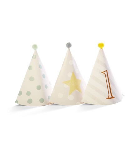 Mamas & Papas Party Shop 1st Birthday - Party Hats