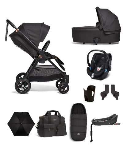 Mamas & Papas Pushchairs Flip XT3 9 Piece Complete Bundle Including Cloud Z - Black/Copper