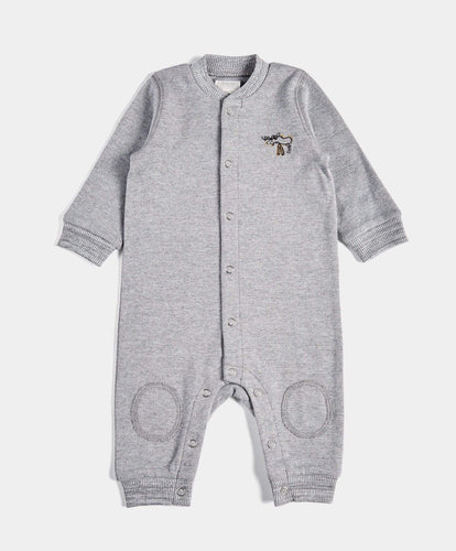 Mamas & Papas Rompers Baseball Collar Romper