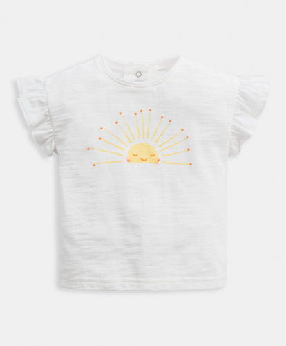 Mamas & Papas Tops & Shirts Sunshine Frill T-Shirt