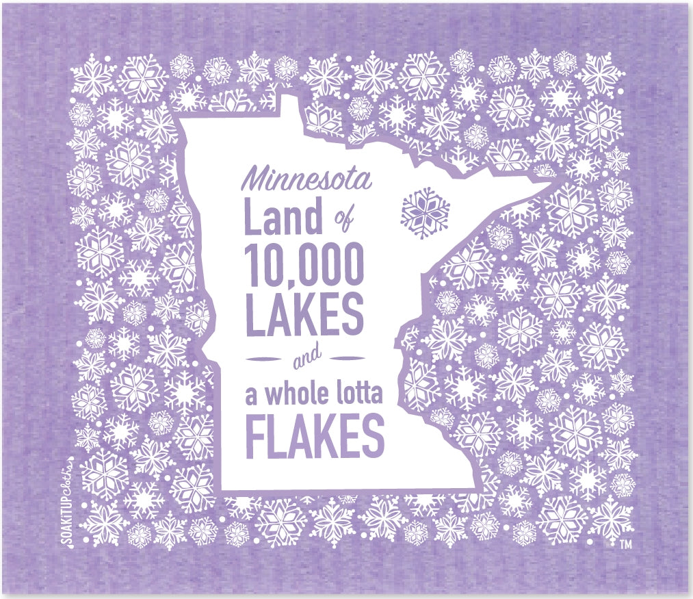 Minnesota Land of 10,000 Lakes and a Whole Lotta Flakes