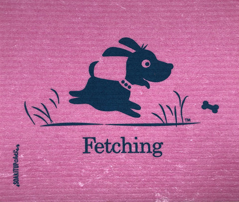 Fetching Dog