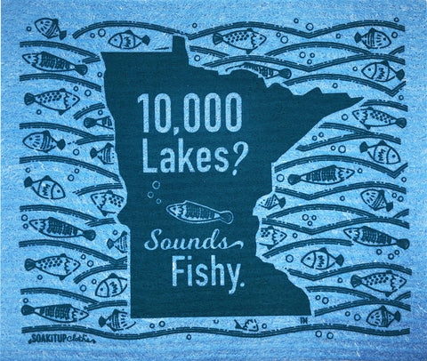 Minnesota 10,000 Lakes? Sounds Fishy.