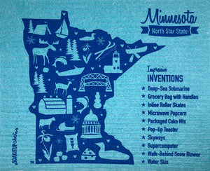 Minnesota Impressive Inventions Map