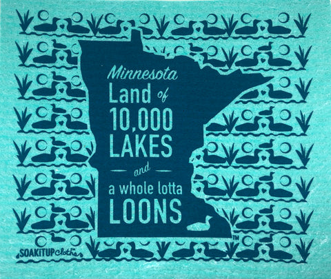 Minnesota Land of 10,000 Lakes and a Whole Lotta Loons