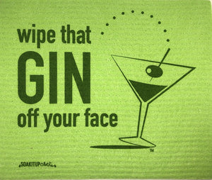 Wipe That GIN Off Your Face