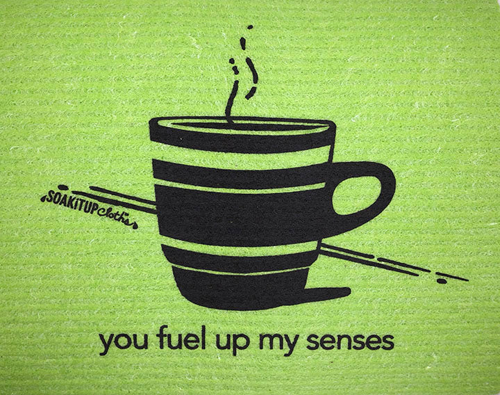 you fuel up my senses—coffee in apple