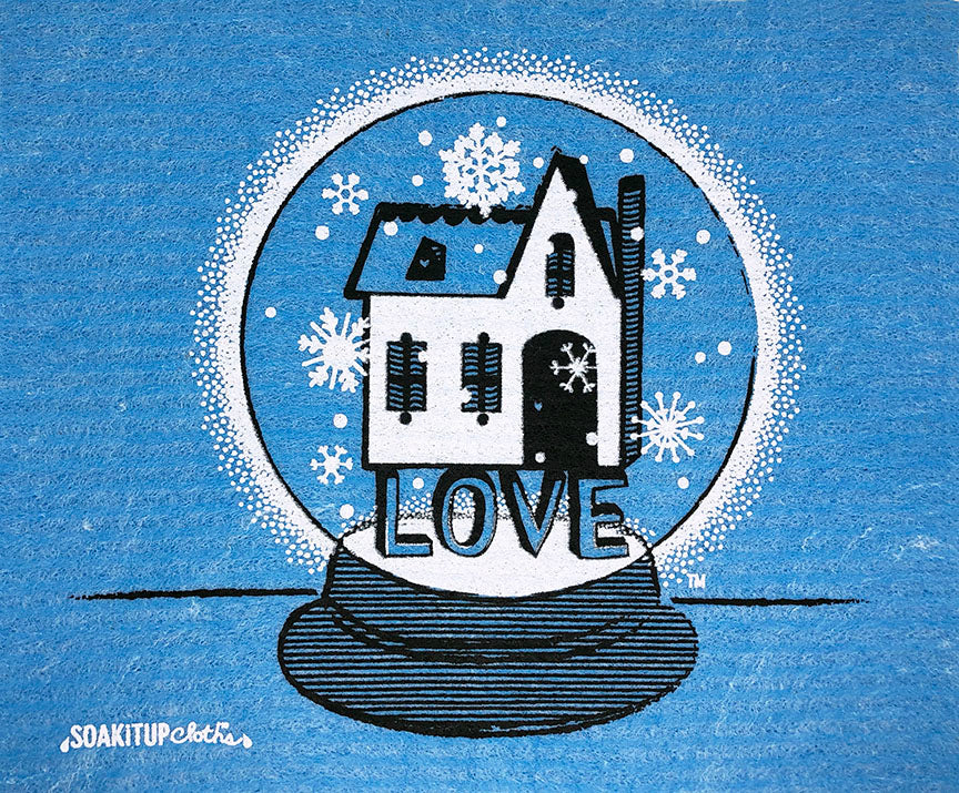 Love is the Foundation Snow Globe