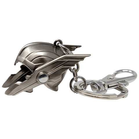 MARVEL CLASSIC - THOR HELMET 3D PEWTER KEY RING