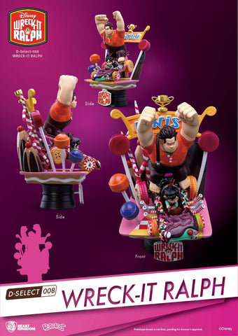 WRECK IT RALPH DIORAMA DS STATUE