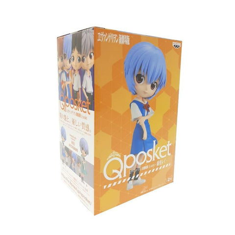 REI AYANAMI EVANGELION MOVIE Q POSKET VER.1 FIGURE
