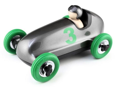 BRUNO ROADSTER - GUN METAL, GREEN WHEELS - Limited Edition Toys Mérida