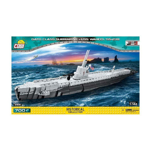 COBI SMALL ARMY 4806 AMERICAN SUBMARINE USS WAHOO - Limited Edition Toys Mérida