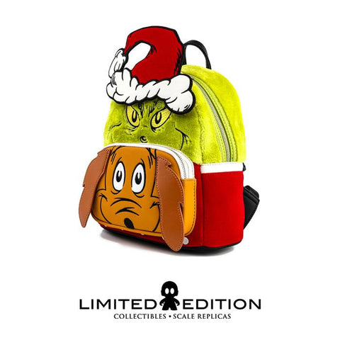 Loungefly Dr Seuss Grinch And Max Mini Backpack