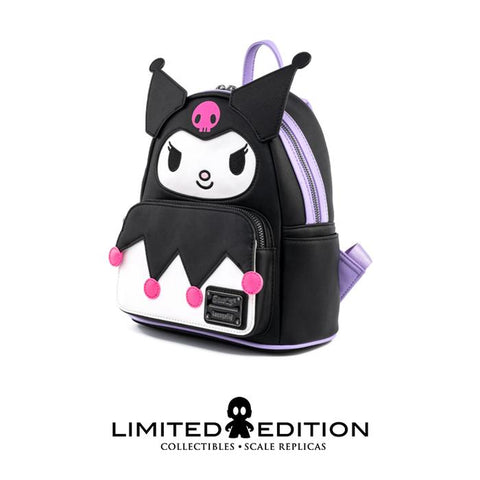 Loungefly Sanrio Kuromi Cosplay Faux Leather Mini Backpack