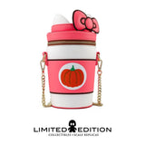 Loungefly Hello Kitty Pumpkin Spice Kitty Cup Crossbody Bag