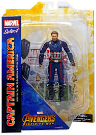 MARVEL SELECT CAPTAIN AMERICA IW