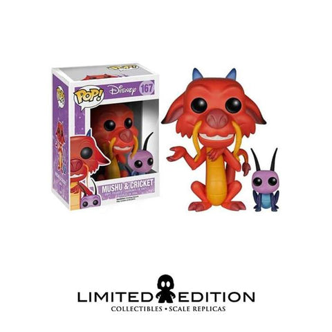 MUSHU Y CRICKET POP DISNEY