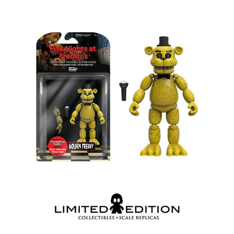 FNAF GOLDEN FREDDY FUNKO ACTION FIGURE
