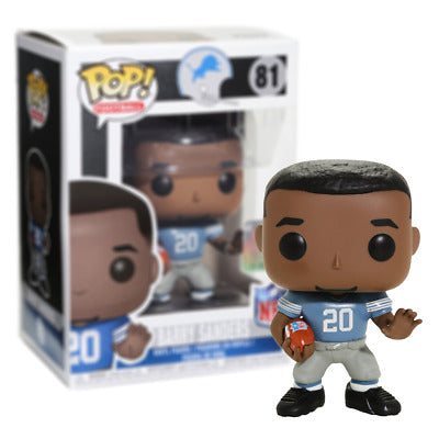 POP NFL-LEGENDS   BARRY SANDERS (LIONS HOME)