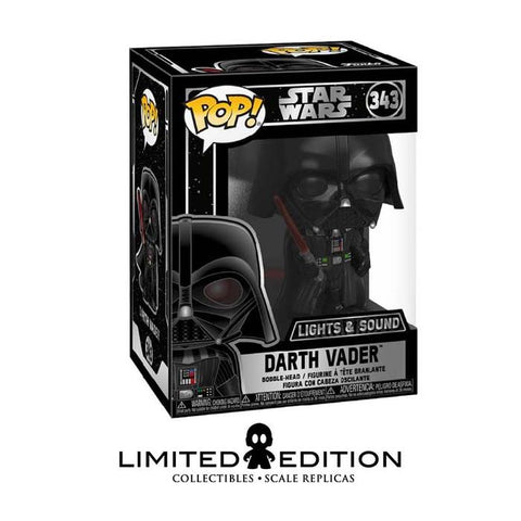 DARTH VADER ELECTRONIC POP STAR WARS