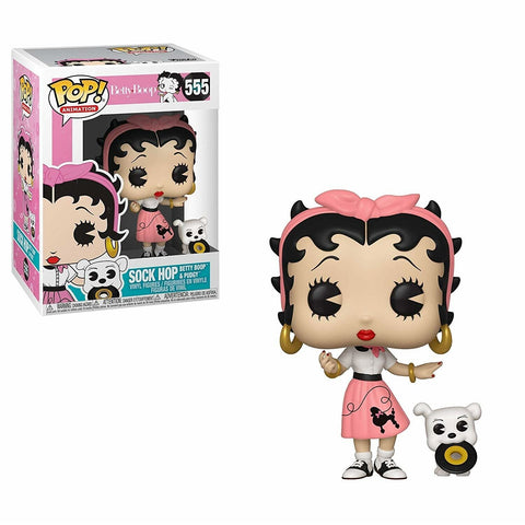 POP BETTY BOOP- SOCK HOP ANIMATION