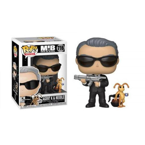 AGENT K & NEEBLE - Limited Edition Toys Mérida