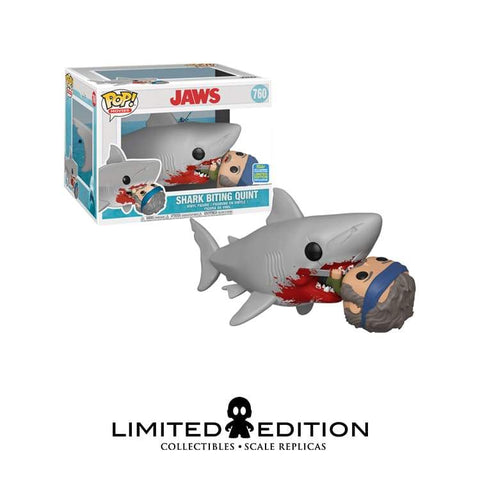 SHARK BITING QUINT SDCC 2019 POP MOVIE MOMENT
