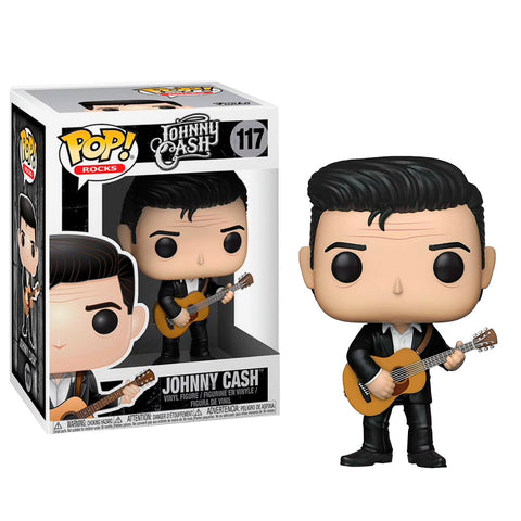 JOHNNY CASH IN BLACK - POP ROCKS- JOHNNY CASH