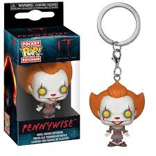 Pennywise W/ Open Arm POP KEYCHAIN