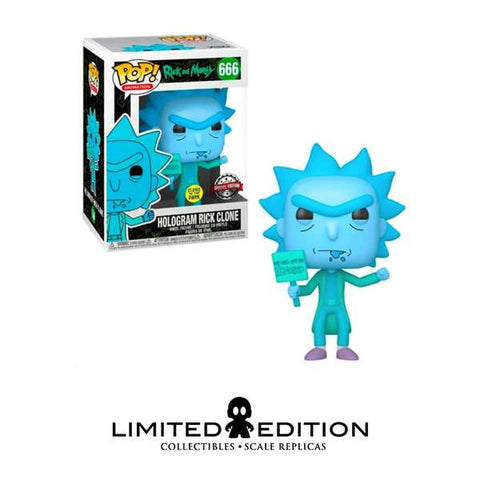 Hologram Rick Protestor (Gw) Pop  Animation