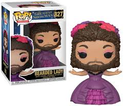 Pop Movies- Greatest Showman - Bearded Lady