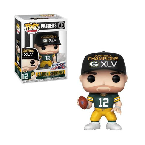 AARON RODGERS (SB CHAMPIONS XLV POP SPORTS: PACKERS - Limited Edition Toys Mérida