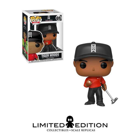 Pop Golf- Tiger Woods (Red Shirt)