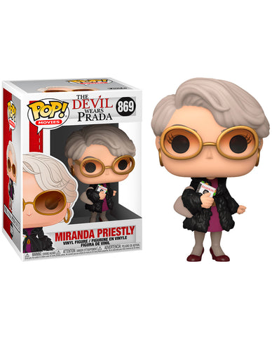MIRANDA PRIESTLY POP MOVIES