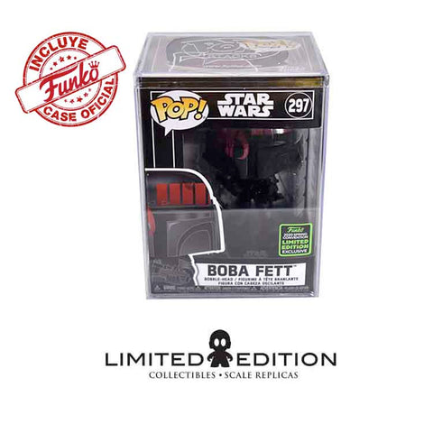 Pop Boba Fett (Futura) w/case Pop TELEVISION ECCC20 X LIMITED EDITION