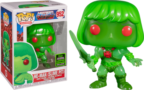 HE MAN SLIME POP TELEVISION ECCC X LIMITED EDITION