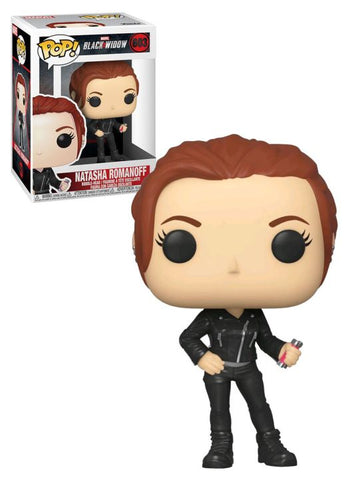 POP MARVEL: BLACK WIDOW  BLACK WIDOW (STREET)