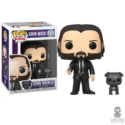 JOHN(BLACK SUIT)W/DOG POP MOVIES