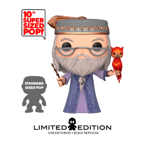 Dumbledore w/Fawkes POP SUPER SIZED