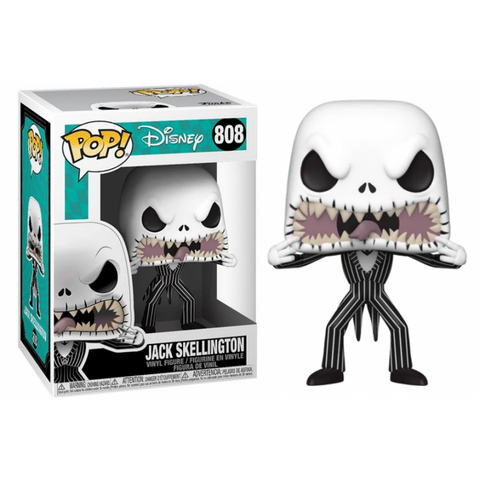 Jack Skellington (scary face) POP DISNEY