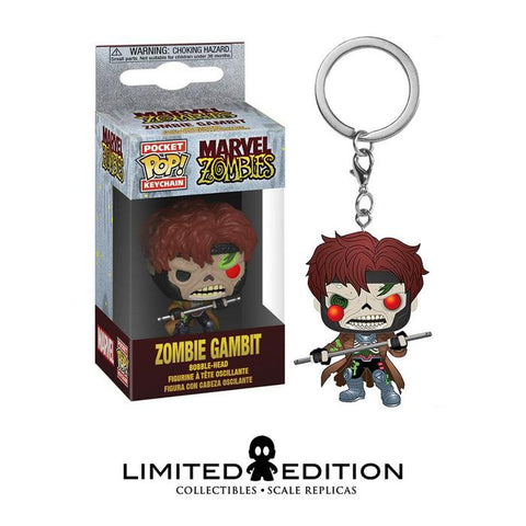 ZOMBIE GAMBIT POCKET POP KEYCHAIN