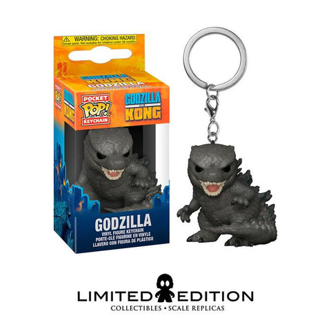 GODZILLA POCKET POP KEYCHAIN