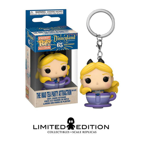 ALICE TEA PARTY ATTRACTION POCKET POP KEYCHAIN