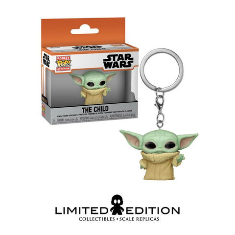 THE CHILD WHIT THE FORCE POCKET POP KEYCHAIN