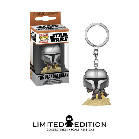FLYING MANDALORIAN POCKET POP KEYCHAIN