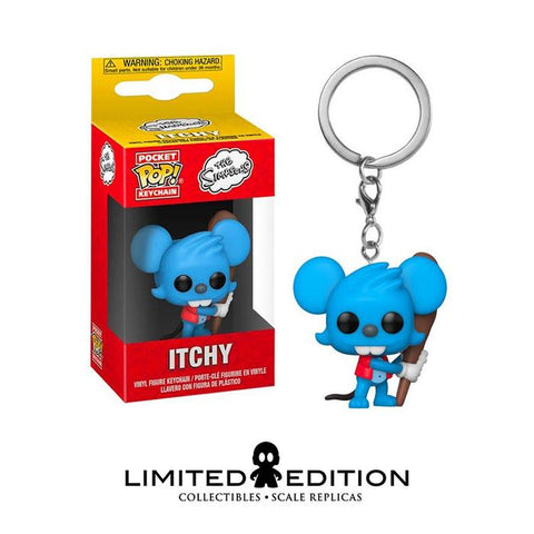 ITCHY POCKET POP KEYCHAIN
