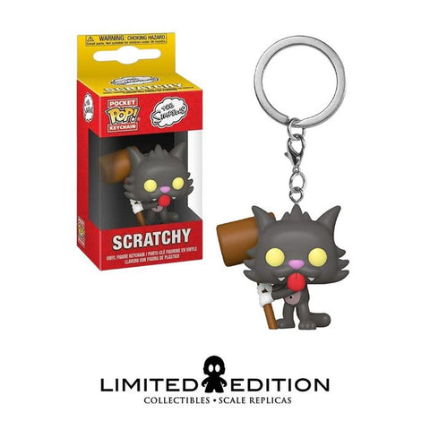 SCRATCHY POCKET POP KEYCHAIN