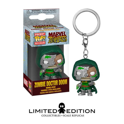 ZOMBIE DOCTOR DOOM POCKET POP KEYCHAIN